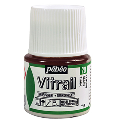 Pebeo Vitrail Transparent White