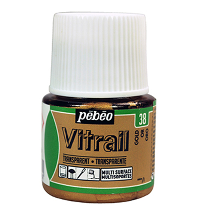 Pebeo Vitrail Transparent Gold