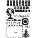 Prima Marketing Cling Stamp Cling Stamp