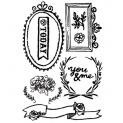 Prima Marketing Cling Stamp Cling Stamps