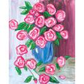 Deco art social arwork painting patroon  Antique Roses