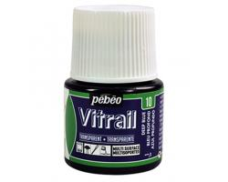 Pebeo Vitrail Transparent Deep Blue