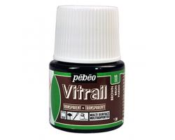 Pebeo Vitrail Transparent Brown
