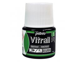 Pebeo Vitrail Transparent Black