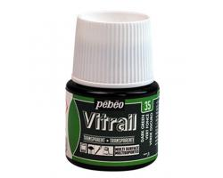 Pebeo Vitrail Transparent Dark Green